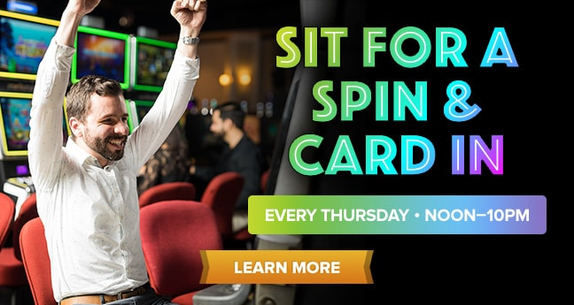 Sit for a Spin & Card In